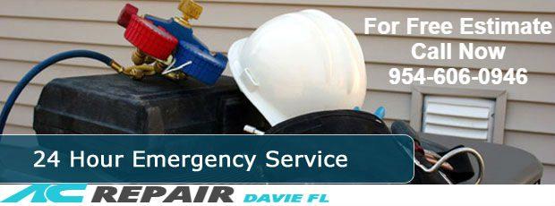 Emergency AC repair Davie