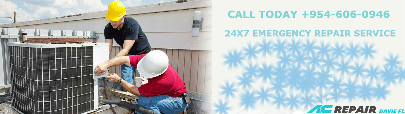 Same day AC service Davie